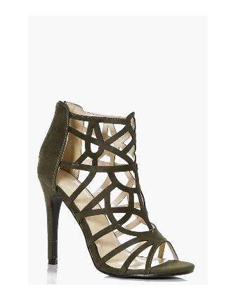 13. Boohoo Jessica Cage Stiletto Heels